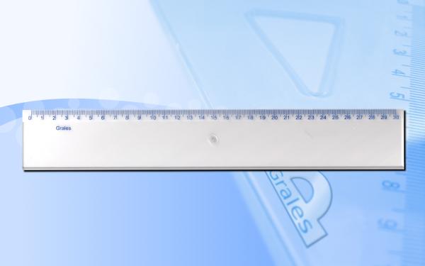 Linijka 30 cm o szerokości 5 cm