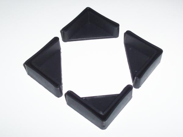 Stopki do regałów o wymiarach 40 x 40 mm