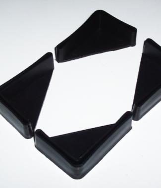 Stopki do regałów o wymiarach 40 x 60 mm