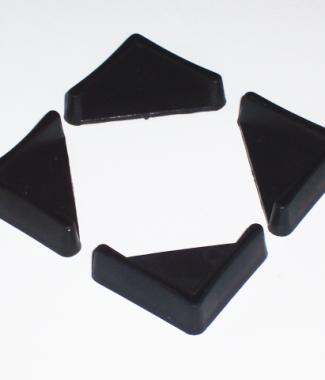 Stopki do regałów o wymiarach 30 x 30 mm